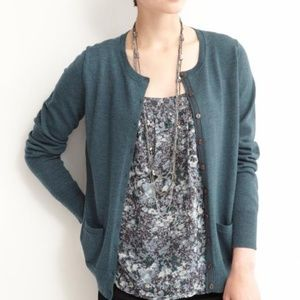 Banana Republic Merino Wool Button Front Cardigan